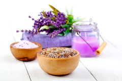 Dry Lavender herbs Royalty Free Stock Images