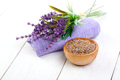 Dry Lavender herbs Royalty Free Stock Image