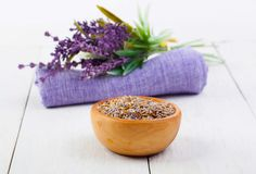 Dry Lavender herbs Stock Images