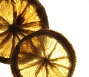 Dry lemons Stock Photo