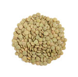 Dry lentil in the form of a circle. Stock Photography