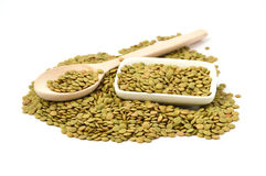 Dry lentils pictures Stock Image