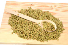Dry lentils pictures Royalty Free Stock Photography