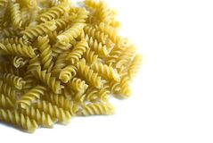 Dry macaroni Royalty Free Stock Photo