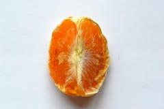 Dry Mandarin. Dried tangerine slice lain 3 days Stock Images