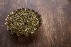Dry mate tea Stock Image