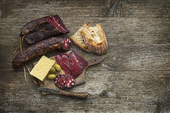 Dry meat Royalty Free Stock Image