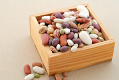 Dry Mixed Beans Royalty Free Stock Images
