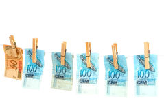 Dry Money Royalty Free Stock Images
