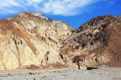 Dry mountains of Death Valley Stock Photo