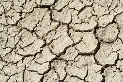 Dry Mud Cracks Royalty Free Stock Image