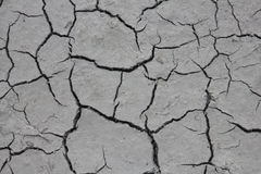 Dry mud near the river Royalty Free Stock Images