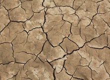 Dry Mud. Mud and silt of a dried up lake Stock Photo