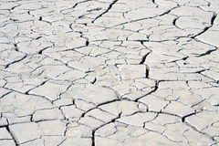 Dry muddy soil. Close up of cracked dry muddy soil on summer time royalty free stock photography