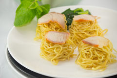 Dry noodle Royalty Free Stock Photo