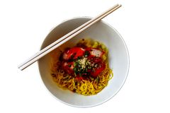 Dry noodle Stock Photography