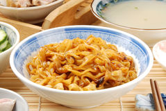 Dry noodles Royalty Free Stock Photos