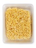 Dry noodles of the quick preparation Stock Image