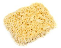 Dry noodles of the quick preparation Royalty Free Stock Image
