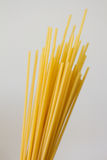 Dry noodles. Still life: just dry noodles. Bucatini (foratini Stock Photo
