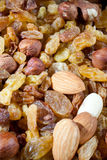 Dry nuts Royalty Free Stock Images