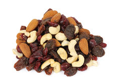 Dry nuts Royalty Free Stock Photos