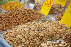 Dry nuts Royalty Free Stock Image