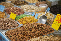 Dry nuts Royalty Free Stock Photo