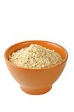 Dry oat grains Stock Image
