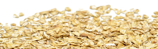 Dry oats Stock Image