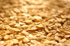 Dry oats cereal Royalty Free Stock Photos