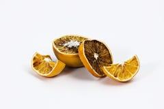 Dry orange fruits Stock Photos