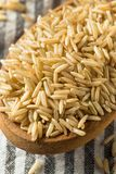 Dry Organic Indian Basmati Rice. Ready to Cook royalty free stock photography