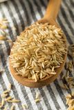 Dry Organic Indian Basmati Rice. Ready to Cook stock photography