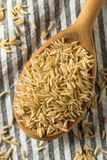 Dry Organic Indian Basmati Rice. Ready to Cook royalty free stock images