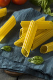 Dry Organic Manicotti Pasta Tube Royalty Free Stock Photo