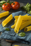Dry Organic Manicotti Pasta Tube Royalty Free Stock Images