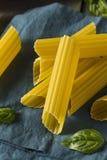 Dry Organic Manicotti Pasta Tube Royalty Free Stock Photos