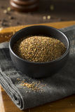 Dry Organic Mixed Ground Pepper Blend. In a Bowl stock photos