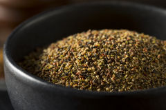 Dry Organic Mixed Ground Pepper Blend. In a Bowl royalty free stock images