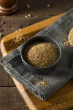 Dry Organic Mixed Ground Pepper Blend. In a Bowl stock image