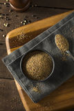 Dry Organic Mixed Ground Pepper Blend. In a Bowl royalty free stock photography