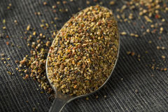 Dry Organic Mixed Ground Pepper Blend. In a Bowl royalty free stock image