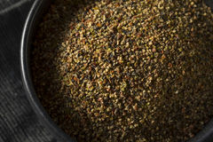 Dry Organic Mixed Ground Pepper Blend. In a Bowl stock images