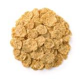 Dry organic multigrain flakes Royalty Free Stock Image