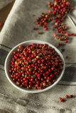 Dry Organic Red Peppercorns Stock Images