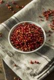Dry Organic Red Peppercorns Stock Photos