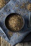 Dry Organic Tarragon Seed Spice Royalty Free Stock Photo