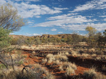 The dry outback at Simpsons Gap Stock Photos