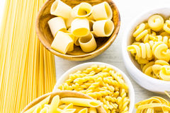 Dry Pasta Stock Photography